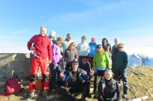 Hiking to Pointe d'Ireuse (1890m), Whit Monday