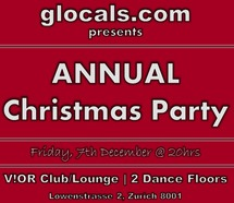 ZH glocals: ZURICH XMAS PARTY (Friday, 7th December) Picture
