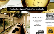 Free tasting of delicious Spanish white wines from Rued