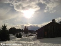 Winter hiking at the Mont Chery (Les Gets) Picture