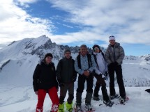 Snowshoe hike to the Mont Jovet Picture