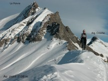Snowshoeing, Col de Aup Couti Picture