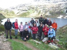 Hiking to mountain chalets and Lake Pormenaz Picture