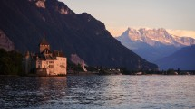 Starting again! Evening hike: Chillon