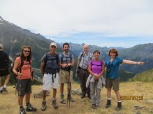 Hiking to Col de Tricot (2120m), St Gervais