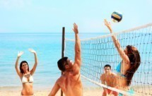 Beach Volleyball in Vidy