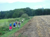 Hiking from Reignier, oven and path of the Hill Picture