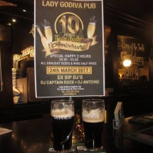 Friday night drinks @ Lady Godiva - help us celebrate. Picture
