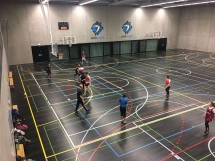 Indoor Mixed Touch Rugby Games Picture