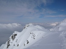 Snowshoes to the Monts Jovet (2362m)