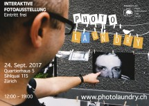 Photo Laundry 2017– 1 Day Interactive Photo Exhibition