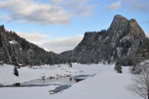 A winter wonderland - up and up and around Lake Taney