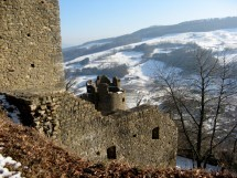 Hike from Linner Linde to a large castle ruin, Aargau Picture