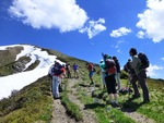 Hiking on the Pointe de Chesery Photo