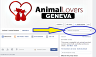 Animal Lovers Geneva: Facebook Group Picture