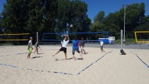 Badminton, Beach Volleyball, and Barbecue Picture