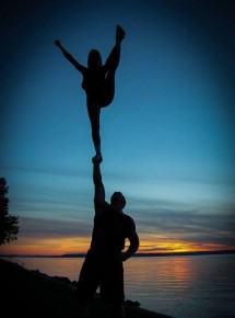 Looking for a stunt/acro partner :)