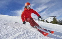 Skiing and Sledging in Diablerets Picture