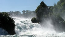 Sunny hike to the Rhine Falls in Neuhausen Picture
