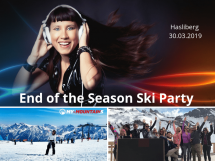 End of the Season Ski Party Picture
