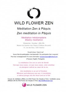 Zen meditation session in Pâquis: Sunday 26 May, 8pm
