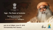 Yoga Day Event: Sadhguru Live at the UN, Geneva Picture