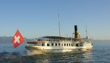 Afterwork cruise on lake Léman Picture