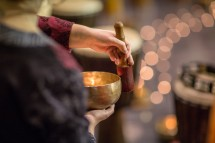 Free one hr Workshop TIBETAN singing bowls,meditation Picture
