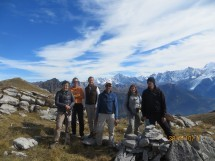 Circular hike to the Col de Barmerousse 2250m Picture
