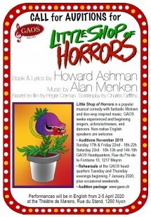 Auditions - for Little Shop of Horrors Musical Picture