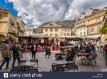Day out at Domodossola market - Italy