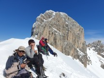 Snowshoe hike to Pointe du Midi Picture