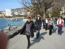 !**Gentle Lakeside Walk - Montreux**!