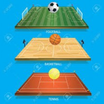 Tennis, Football or Basketball Picture