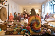 Yogic sleep: yoga nidra with GONG