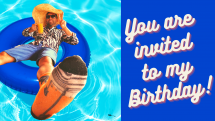 Jaumesse's Birthday Party Picture