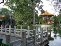 Botanical and Chinese gardens Picture