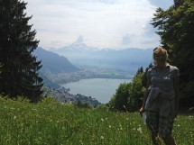hike Wispile Gstaad until Lake  Launen Picture