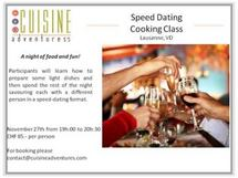 speed dating cooking classes