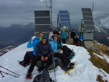 Snowshoe hike to Mont Joly 2525m Picture