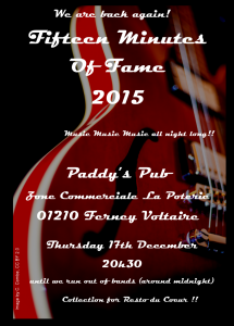 Blues, Rock, Pops & drink - Paddy's Pub annual event Picture