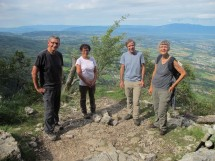Gentle hike on Mount Salève afternoon Picture