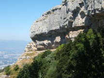 Spring hike on Mt Salève - The Corraterie Picture