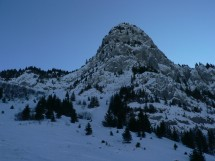 Snowshoe hike to Col De Sosay Picture