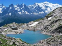 Snowshoes to the Lac Blanc (Chamonix) Picture