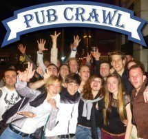 Pub Crawl Zurich - Meet new people and party together Picture
